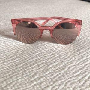 Accessories - Pink mirrored sunglasses